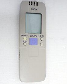 【姉妹館はポイント10倍祭!バナーをクリック!】【中古】SANYO製 エアコンリモコン RCS-GA1