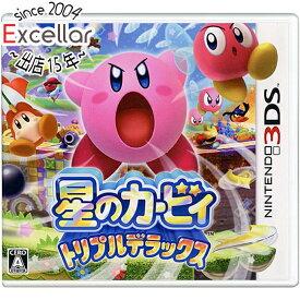 【中古】星のカービィ トリプルデラックス 3DS