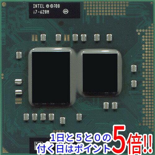 【中古】Core i7 Mobile I7-620M 2.6GHz PGA988 SLBTQ