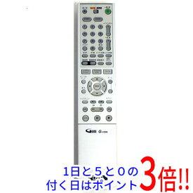 【中古】SONY DVDレコーダー用リモコン RMT-D206J
