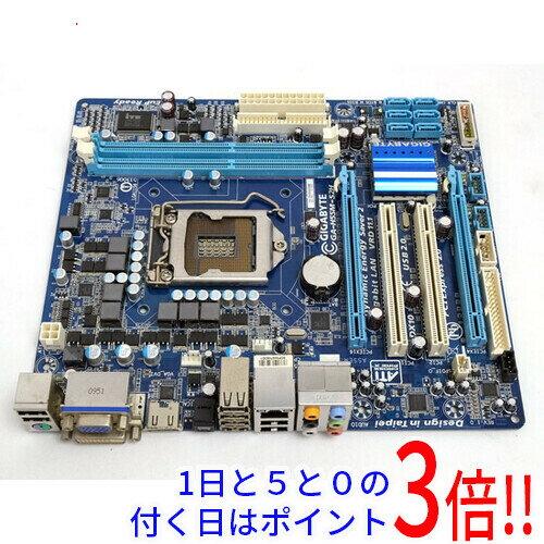 【中古】GIGABYTE MicroATXマザーボード GA-H55M-S2H