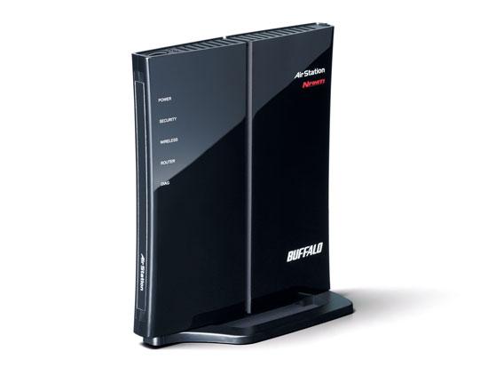 【中古】BUFFALO製 無線LAN BBルータ WHR-G301N