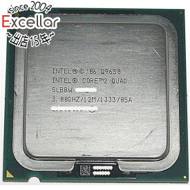 【中古】Core 2 Quad Q9650 3.00GHz FSB1333MHz LGA775 45nm SLB8W