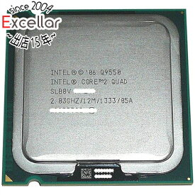 【ポイント5倍!7/21 20:00〜7/26 01:59まで!】【中古】Core 2 Quad Q9550 2.83GHz FSB1333MHz LGA775 45nm SLB8V