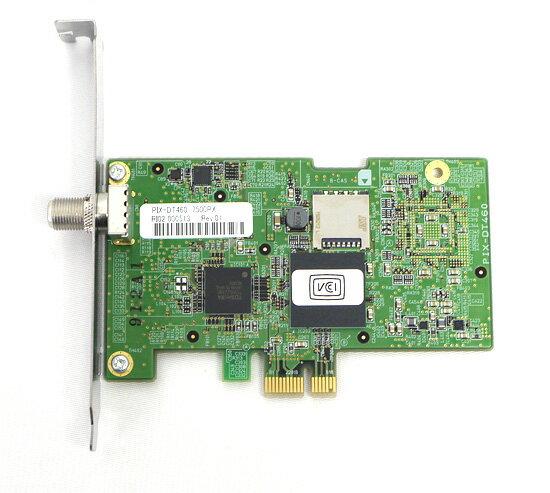 【中古】PIXELA Windows10対応 PCIe接続 テレビチューナー PIX-DT460 本体のみ