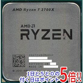 【中古】AMD Ryzen 7 2700X YD270XBGM88AF 3.7GHz SocketAM4