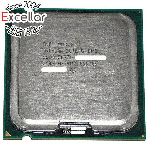 【中古】Core 2 Duo E6600 2.40GHz FSB1066MHz LGA775 SL9ZL