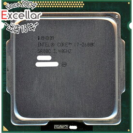 【中古】Core i7 2600K 3.4GHz LGA1155 SR00C