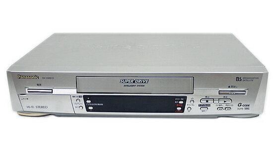 【中古】Panasonic ビデオデッキ NV-HXB10