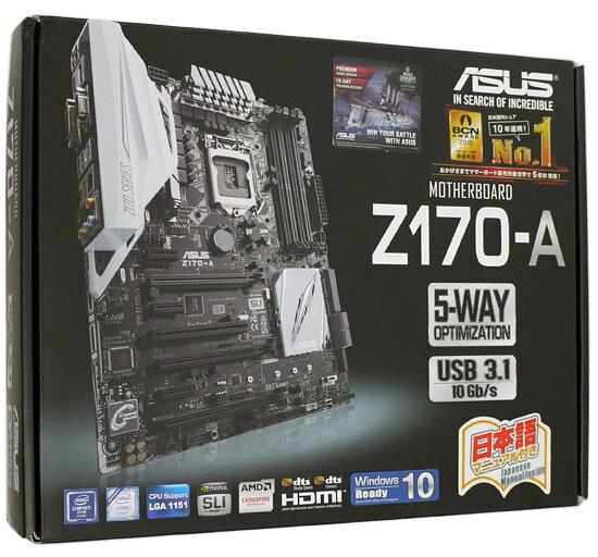 【中古】ASUS製 ATXマザーボード Z170-A LGA1151