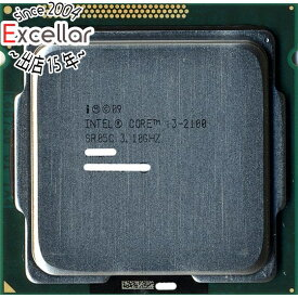 【中古】Core i3 2100 3.1GHz 3M LGA1155 SR05C