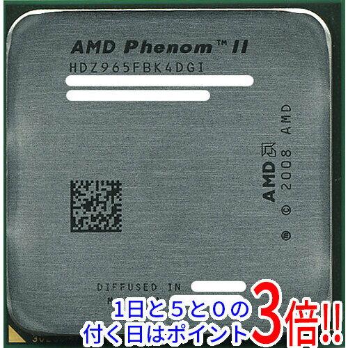 【中古】AMD Phenom II X4 965 Black Edition 3.4GHz HDZ965FBK4DGI