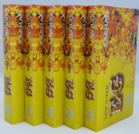 ビデオテープ 90分/ビデオテープVHS 90分x5本パック