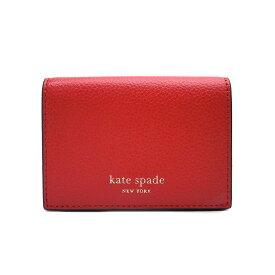 ケイトスペード カードケース アウトレット 名刺入れ パスケース WLRU5235 624 kate spade レッド【あす楽】