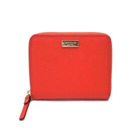 ケイトスペード 財布 アウトレット 二つ折り財布 ラウンドジップ WLRU2909 605 kate spade レッド エクセルワールド ブランド プレゼントにも ウォレット SS201912