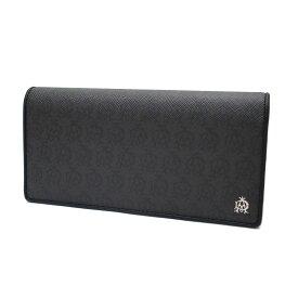 b88f2f03c84b ダンヒル 財布 メンズ L2W710Z DUNHILL 二つ折り 長財布 小銭入れ付き ウィンザー PVC×レザー