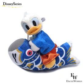 ドナルドダック ぬいぐるみバッジ 2021 鯉のぼり 五月人形 こどもの日 ディズニー リゾート限定 エクセルワールド プレゼントにも ディズニーグッズ かわいい