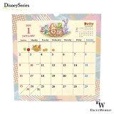ダッフィー&フレンズ2022壁掛けカレンダー東京ディズニーシー限定カレンダーエクセルワールドかわいいダッフィーグッズ