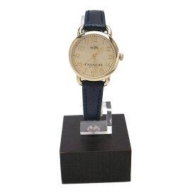 コーチ 時計 14502250 COACH 28mm DELANCEY 腕時計 アナログ時計 ゴールド×メタリックダークグリーン【あす楽】