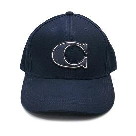 コーチ キャップ アウトレット 帽子 F33777 F43038 NAV COACH コーチ ロゴ ネイビー【あす楽 】
