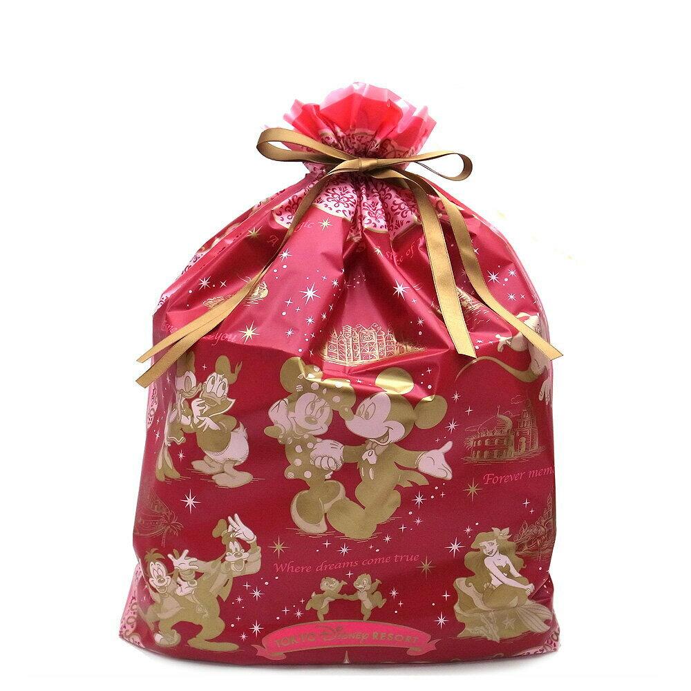 ディズニーシ—オリジナル ギフトラッピング袋 401340005937 レッド Lサイズ 東京ディズニーリゾート限定 「購入制限あり」【あす楽 】