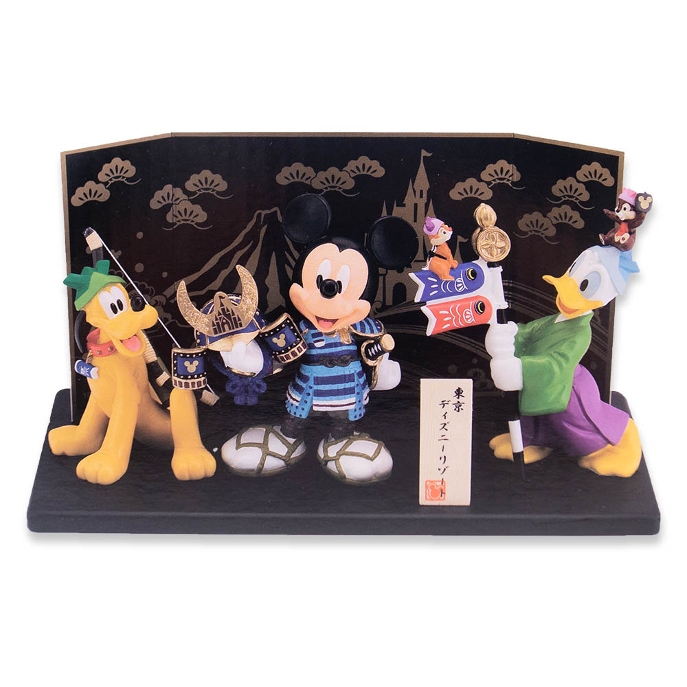 ミッキー・ドナルド・プルート 五月人形 兜・鯉のぼり こどもの日 ディズニー リゾート限定