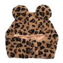 ミッキーマウス かわいいヒョウ柄 ファンキャップ ウィンターアイテム2019 ディズニー リゾート限定【あす楽】 エクセ…