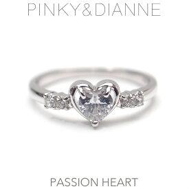 ピンキー&ダイアン リング Pinky&Dianne シルバー 50389 Passion Heart パッションハート エクセルワールド ブランド プレゼントにも おしゃれ アクセサリー TP1
