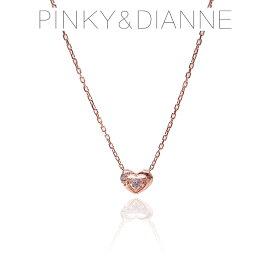 Pinky&Dianne ピンキー&ダイアン ネックレス VPCPD51591 ハート SV ピンクゴールド コーティング キュービック ジルコニア 特別ポイントアップ商品