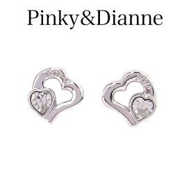 ピンキー&ダイアン ピアス Pinky&Dianne 8280 アクセサリー Check Heart 〜チェックハート〜 特別ポイントアップ商品 エクセルワールド ブランド プレゼントにも おしゃれ アクセサリー