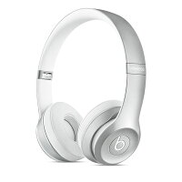 Beats by Dr Dre/ SOLO2 WIRELESS Bluetooth対応 【MKLE2PA/A】シルバー ヘッドホン 0113_flash