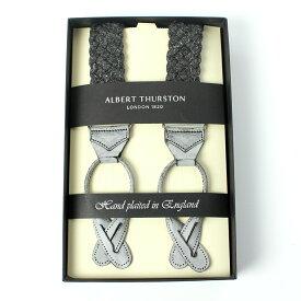アルバートサーストン ALBERT THURSTON メンズサスペンダー リネンブレード ブラック Y型