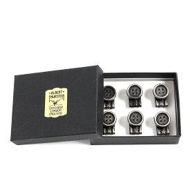 ALBERT THURSTON クリップオンボタン/アルバートサーストン メンズ ブランド