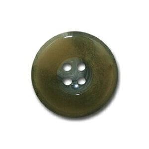 バッファロー ライトグレー【色番: 2】 15mm /[EXCY本水牛ボタンシリーズ]