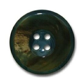 バッファロー ブルー【色番: 55】 20mm /[EXCY本水牛ボタンシリーズ]