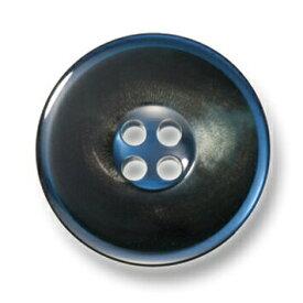 カイザー ブルー【色番: 55】 25mm /[EXCY本水牛ボタンシリーズ]