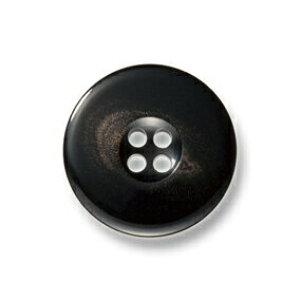 カイザー ブラック【色番: 9】 15mm /[EXCY本水牛ボタンシリーズ]