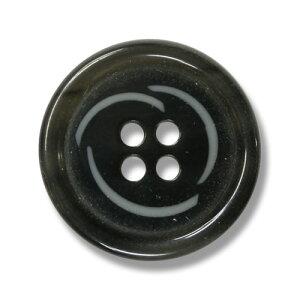 チャオ チャコールグレー(色番:6B) 20mm /[EXCYイタリアボタンコレクション]