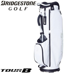 BRIDGESTONE GOLF(ブリヂストン ゴルフ) TOUR B 軽量アルミフレームモデル キャディバッグ メンズ CBG021