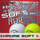 Callaway(キャロウェイ) CHROME SOFT X 2017 ゴルフ ボール (12球)