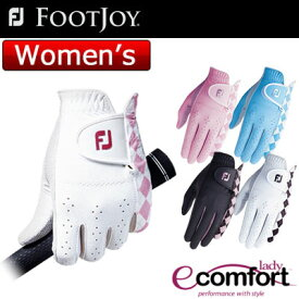FOOTJOY(フットジョイ) lady ecomfort レディース ゴルフ グローブ (左手用) FGLE16 =