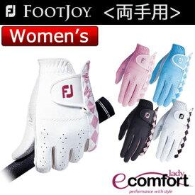 FOOTJOY(フットジョイ) lady ecomfort レディース ゴルフ グローブ (両手用) FGLE6PR =