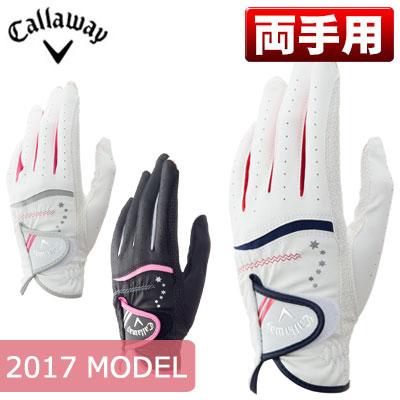 Callaway(キャロウェイ) Nail Dual レディース ゴルフ グローブ (両手用) 17 JM