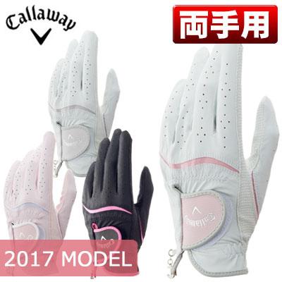 Callaway(キャロウェイ) Style Dual レディース ゴルフ グローブ (両手用) 17 JM