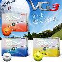 Titleist(タイトリスト) VG3 2016 ゴルフ ボール (12球)