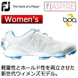 FOOTJOY(フットジョイ) ASPIRE Boa レディース ゴルフシューズ 98904 (ホワイト) W ***