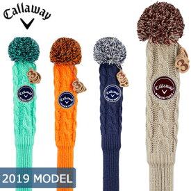 Callaway (キャロウェイ) Knit -ニット- フェアウェイウッド ヘッドカバー 19 JM