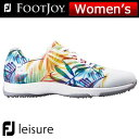 FOOTJOY (フットジョイ) FJ leisure レディース ゴルフ シューズ 92902 (W)