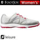 FOOTJOY (フットジョイ) FJ leisure レディース ゴルフ シューズ 92903 (W) ***