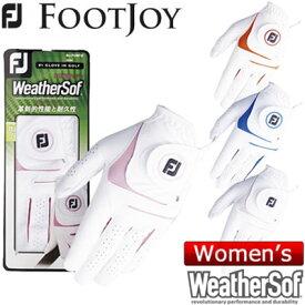 FOOTJOY (フットジョイ) WeatherSof レディース グローブ (両手用) FGWF8PR